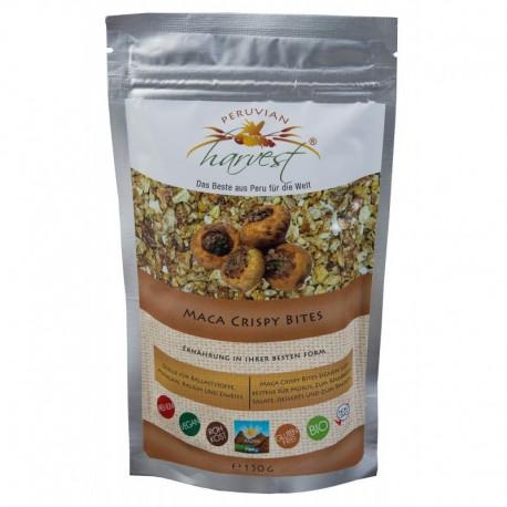 PERUVIAN harvest® Chrupiące kawałki macy EKO Maca Crispy Bites