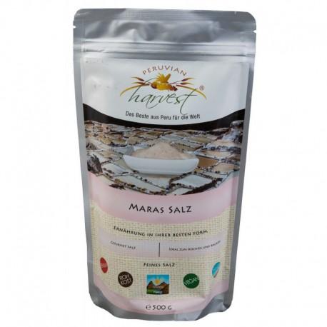 PERUVIAN harvest® Sól maraska - różowa sól Inków (Maras Salz) - 500g