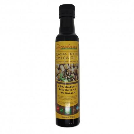 Sacha Inchi Omega 3 6 9 Olej nierafinowany, tłoczony na zimno olej z pierwszego tłoczenia z Orzech Inków