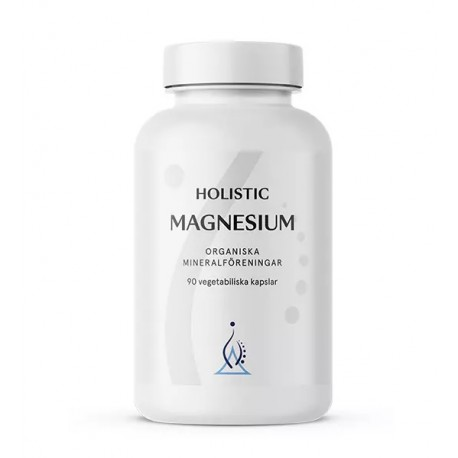 Holistic Magnesium Magnez organiczny  jabłczan magnezu cytrynian magnezu mleczan magnezu łatwo przyswajalny