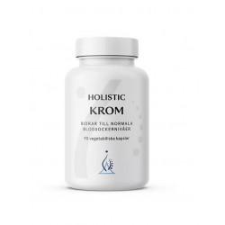 Holistic Krom GTF Chrom pikolinian chromu utrzymanie prawidłowego poziomu glukozy w krwi chrom