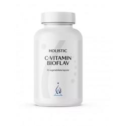 Holistic C-vitamin Bioflav witamina C magnez cytrusowe bioflawonoidy kwas askorbinowy askorbinian magnezu łatwo przyswajalny